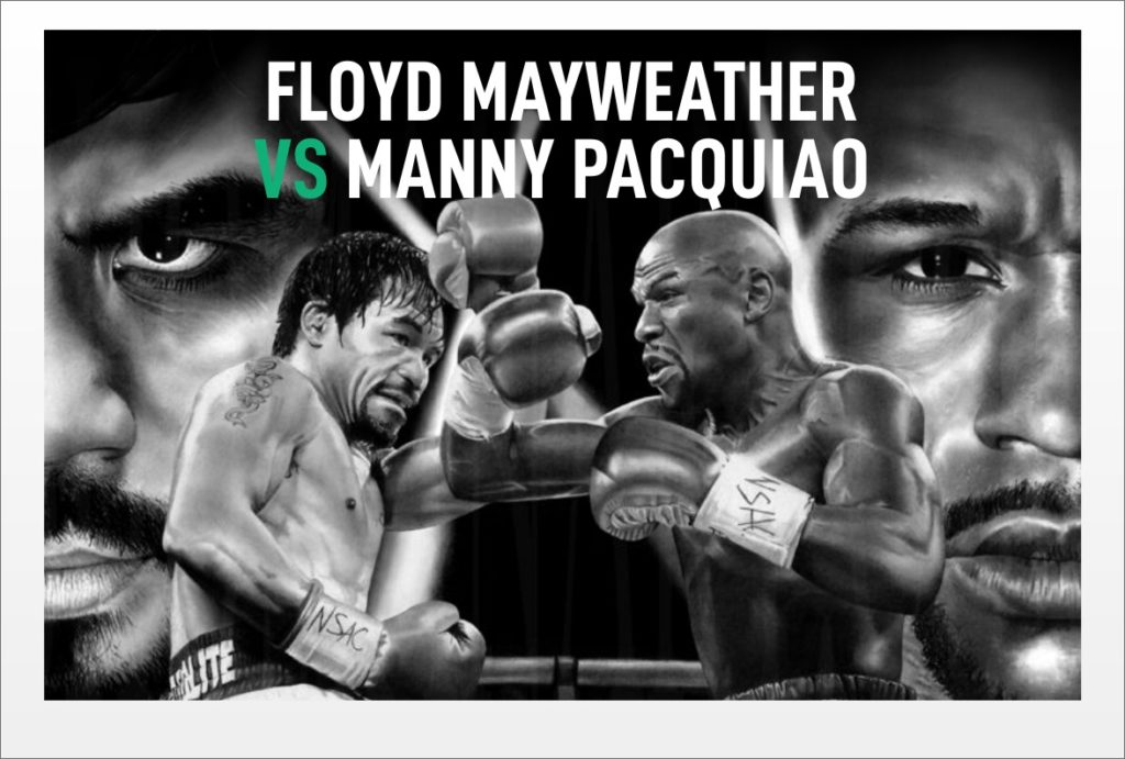 Floyd Mayweather v Manny Pacquiao...